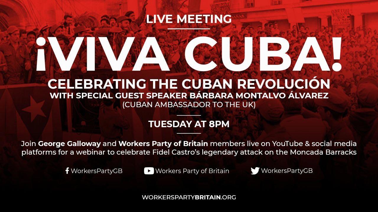 Viva Cuba WPB online meeting 28 July 2020
