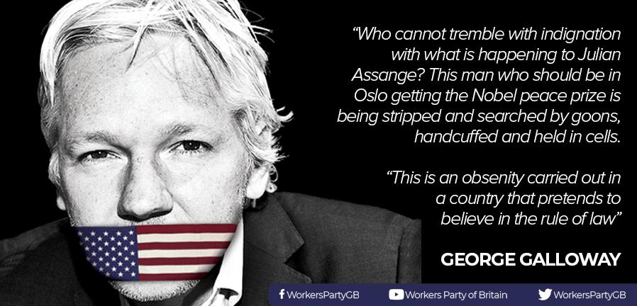 George Galloway on Julian Assange